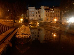 Narbonne at Night